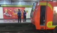 Muere mujer al arrojarse a vías del Metro en Centro Médico