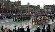 Cierran circulación en inmediaciones del Zócalo por Desfile Militar