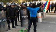 Urge CIDH a gobierno de Bolivia a diálogo para resolver violencia
