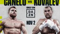 ¡Confirmado! El Canelo peleará el próximo 2 de noviembre ante Kovalev
