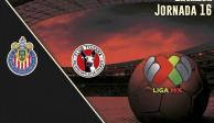 CHIVAS vs XOLOS: dónde ver en vivo, Jornada 16, Liga BBVA MX