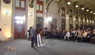 Acto de unidad en Tijuana, migración, indagatoria a Medina Mora... en mañanera de AMLO