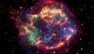 Rareza del cosmos: Observan restos de rayos gamma de una supernova