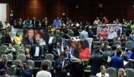 Chocan diputados del PAN y Morena por Reforma Educativa