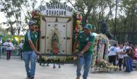 Prevén arribo de 10 millones de peregrinos a Basílica de Guadalupe