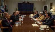 Confía López Obrador que haya acuerdo sobre aranceles antes del lunes