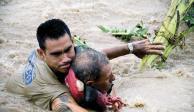 Narda deja ver devastación y heroísmo en el Pacífico