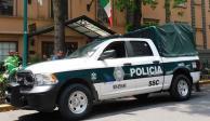 Circulan primeras patrullas con nueva imagen en la Ciudad de México