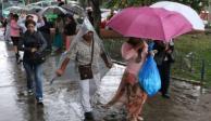 Prevén lluvias muy fuertes en el Valle de México