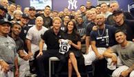 Príncipe Harry convive con Yankees y Red Sox en Londres
