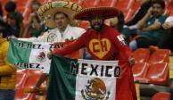 """Afición omite grito de """"pu.."""" en duelo entre México y Panamá"""