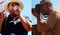 Capturan a los activistas promigrantes Irineo Mujica y Cristóbal Sánchez