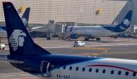 Por desfile aéreo, AICM suspende operaciones tres horas el lunes