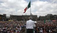 Pide PRD cancelar informe del 1 de julio de López Obrador en el Zócalo