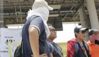 Toman casetas en Chilpancingo y Huitzuco estudiantes de Ayotzinapa