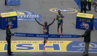 Degefa y Cherono ganan la edición 123 del Maratón de Boston