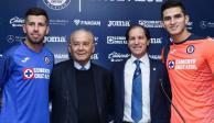 Cruz Azul presenta a los nuevos integrantes del club