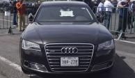 Tianguis de vehículos oficiales deja 62 mdp; bajarán precio en blindados