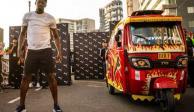 Usain Bolt fue más rápido que un mototaxi en Perú