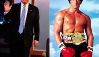 Donald Trump se transforma en Rocky Balboa e internet enloquece