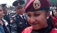 Conoce a Cecilia Canto, primera mujer paracaidista en el Desfile Militar