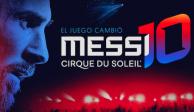 Cirque du Soleil estrenará espectáculo sobre Lio Messi