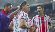 Chivas pone fin a racha del León con goles de Pérez y Pulido