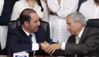 Enrique Cárdenas se registra como candidato del PAN, PRD y MC a gubernatura de Puebla