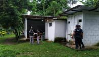 Sujetos armados asaltan a alumnos en salón de clases en Chiapas