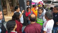 Fuga de vapores moviliza a cuerpos de emergencia en Iztacalco