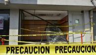 Arrancan cajero automático a 500 metros de comandancia en Juchitán