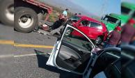 FOTOS: Carambola en carretera a Monclova deja 2 muertos