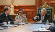 López Obrador se reúne con David Malpass, presidente del Banco Mundial