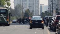 VIDEO: Cierran vialidades y evacúan edificios por fuga de gas en Santa Fe