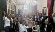 Morena ratifica a Mónica Fernández en el Senado