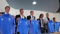 Palermo fue presentado oficialmente como técnico del Pachuca