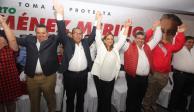 Candidato del PRI a gobernatura de Puebla toma protesta