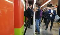 Muere mujer tras arrojarse a vías del Metro Mixcoac
