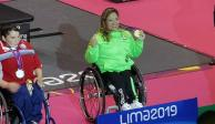 Amalia Pérez levanta el oro 41 para México en los Parapanamericanos