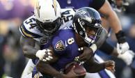Chargers eliminan a Ravens; van contra Patriots en ronda divisional de NFL