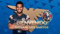 ¡Oficial! Giovani Dos Santos es nuevo jugador del América