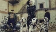 Así luce Emma Stone como Cruella de Vil