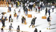 "CDMX dice adiós a pista de hielo navideña; ahora será ""Ecologísima"""