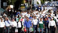 Primero de Mayo, propicio para la protesta, no para el aplauso: AMLO