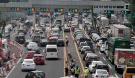 Fin de semana largo provoca aumentó de salida de autos de la CDMX