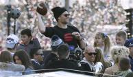 FOTOS: Patriots celebran su 6º Super Bowl con gran desfile en Boston