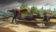 Identifican a pariente de baja estatura del Tiranosaurio rex