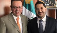 Germán Martínez se reincorpora al Senado