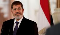 Muere expresidente egipcio en pleno juicio; Morsi fue derrocado en 2013