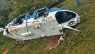 Detienen a policía estatal por derribo de helicóptero en Edomex